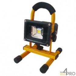 Proyector LED recargable y portátil con batería