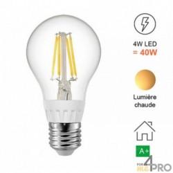 Bombilla LED E27 de filamento