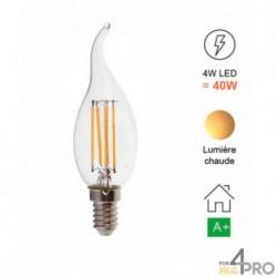 Bombilla LED de filamento E14