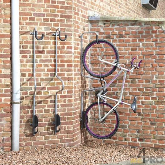 """Estante para bicicletas de pared individual """"antirrobo"""""""