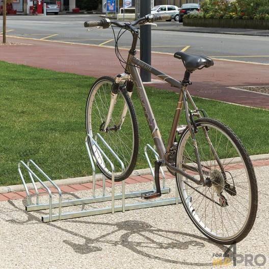Estante para 3 bicicletas lado a lado