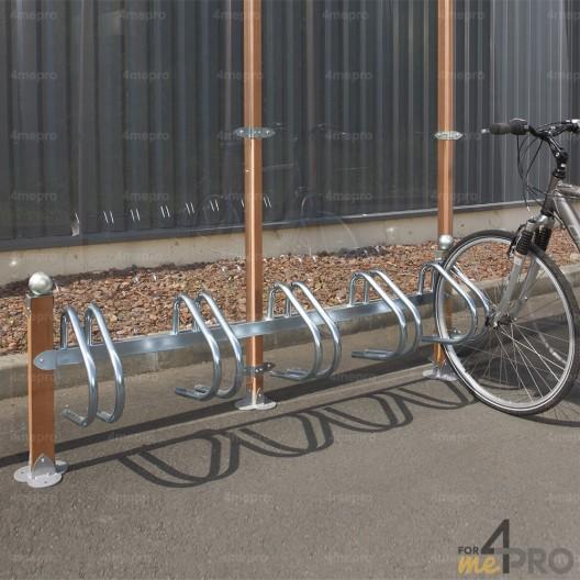 Aparcabicicletas Arcachon para 5 bicicletas