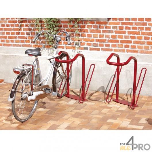 Estante para 2 bicicletas para antirrobo en U
