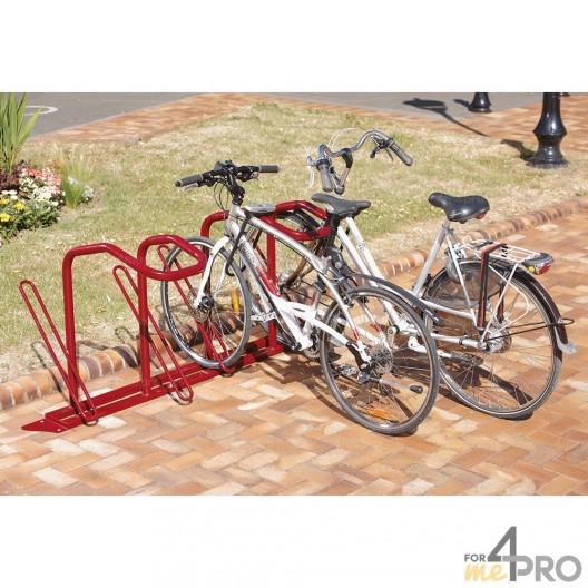 Estante para 4 bicicletas para antirrobo en U