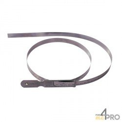 Cinta diamétrica de acero con nonio 1900-2300 mm