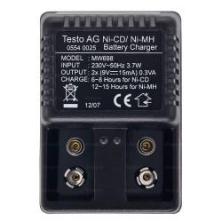 Cargador 220V/50HZ para aparatos de medición y sondas