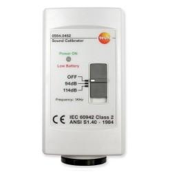 Calibrador para Sonómetro Testo 815 y 816