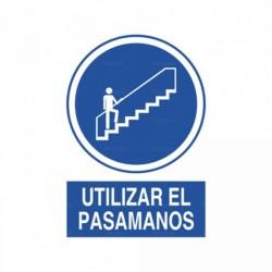 Señal Utilizar el pasamanos 2
