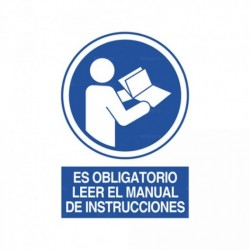 Señal Es obligatorio leer el manual de instrucciones 2