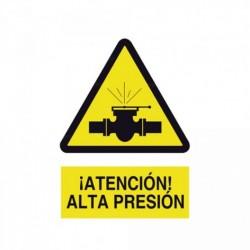 Señal ¡Atención! Alta presión