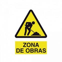 Señal Zona de obras