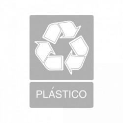 Señal de reciclaje Plástico