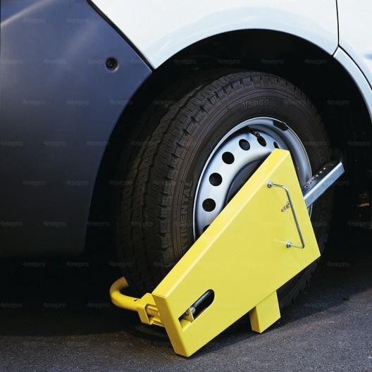 Bloqueo de la rueda Antirrobo alta seguridad con ruedas carenadas