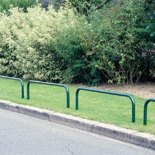 Arco galvanizado para espacios verdes 180 x 65 cm + polvo de poliéster verde