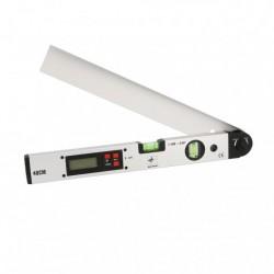 Medidor de ángulos digital de aluminio