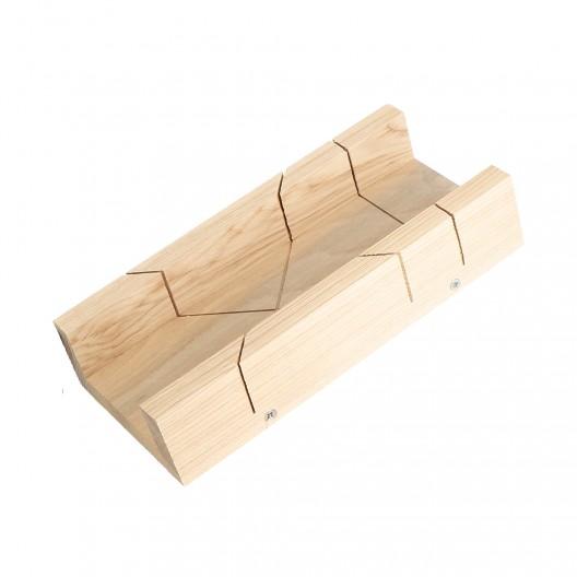 Caja de ingletes de carpintero 5,8x30x4 cm