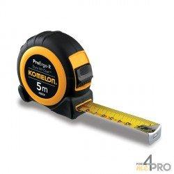 Cinta métrica ergonómica pro 10m x 25mm