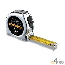 Cinta métrica cromada pro 8m x 25mm