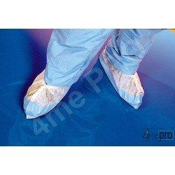 Cubrezapatos desechables con plantilla 25 cm blanco