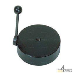 Base magnética con palanca para despegar la base