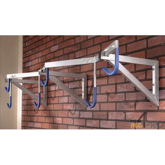 Estante de pared profesional para 6 bicicletas 200 x 35 x 55 cm