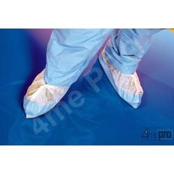 Cubrezapatos desechables con plantilla 40 cm blanco