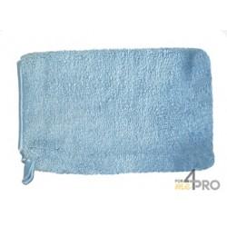 Guante antipolvo elegante Microfibra azul