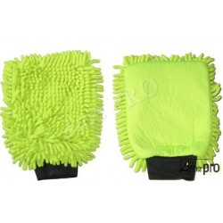 Guante de limpieza Microfibra ''Rasta'' verde