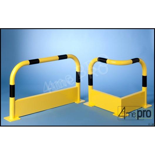 Arco alta seguridad con basamento recto