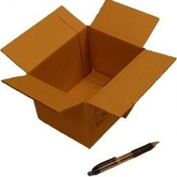 Cartón canal simple 16 x 12 x 11 cm