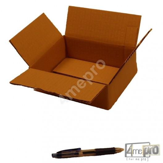 Cartón canal simple 20 x 15 x 6 cm