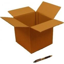 Cartón canal simple 20 x 20 x 20 cm