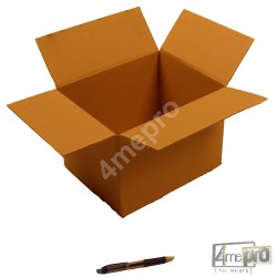 Cartón canal simple 28 x 22 x 20 cm