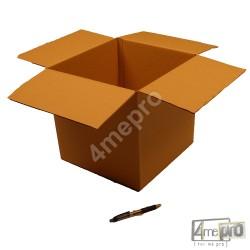 Cartón canal simple 30 x 30 x 30 cm