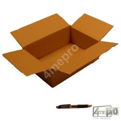 Cartón canal simple 31 x 21,5 x 10 cm