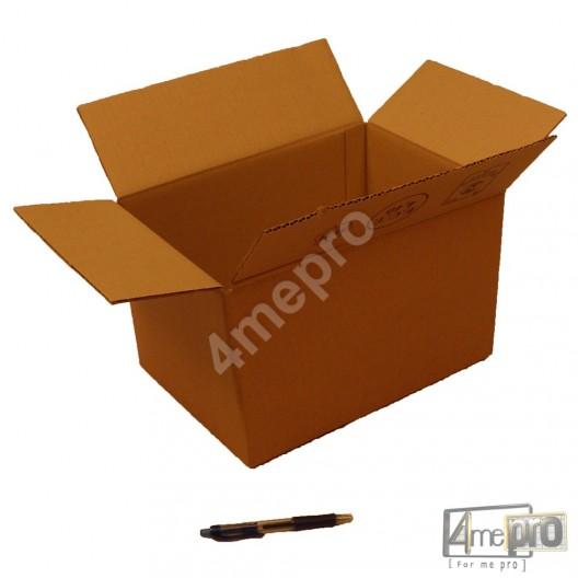 Cartón canal simple 32 x 22 x 20 cm