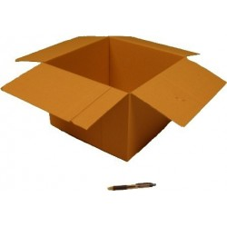 Cartón canal simple 36 x 36 x 25 cm