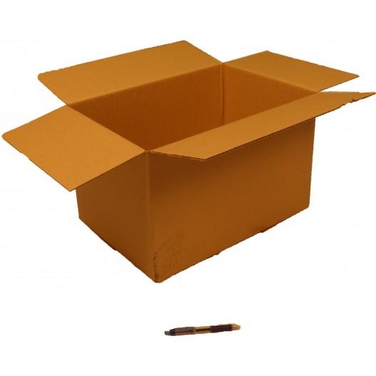 Cartón canal simple 48 x 33 x 30 cm