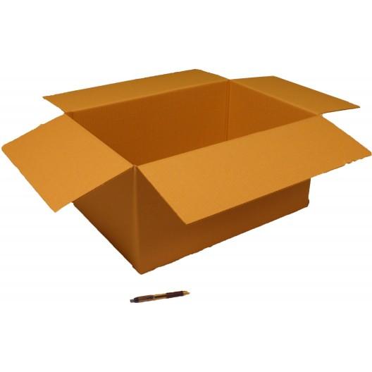 Cartón canal simple 60 x 40 x 30 cm