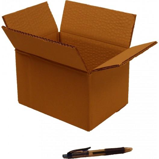 Cartón canal doble 20 x 15 x 12 cm