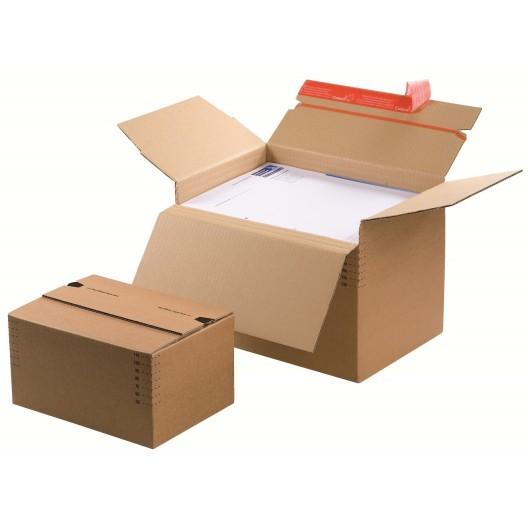 Caja de cartón de altura variable 30,5 X 21,5 cm