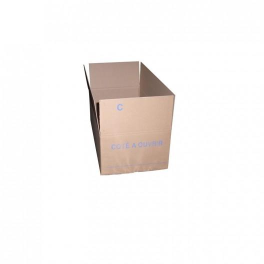 Caja de cartón 60x30x20 cm