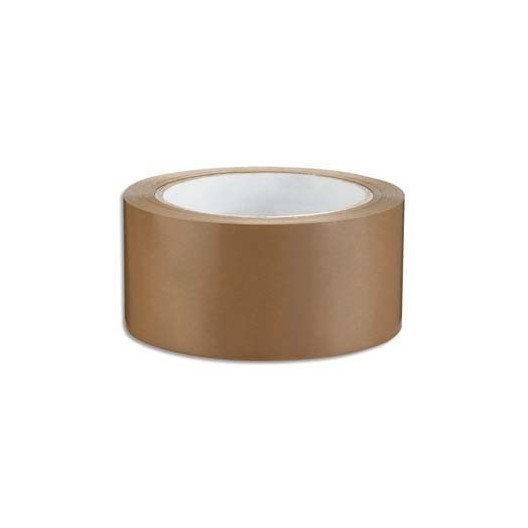 Cinta adhesiva polipropileno Hotmelt marrón 4,8cm x 100 m