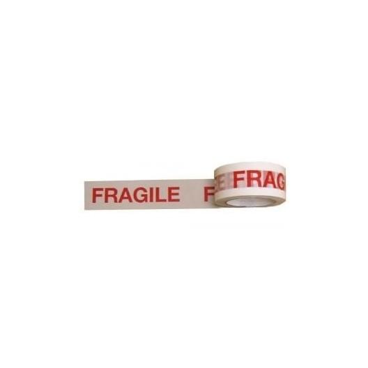 Cinta adhesiva polipropileno frágil 5cm x 100m