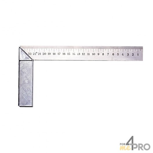 Escuadra de carpintero estándar 25x12 cm