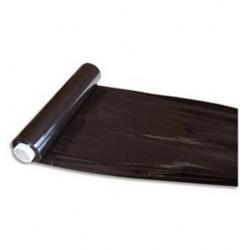 Film extensible opaco negro 17 micras, 45cm x 300m