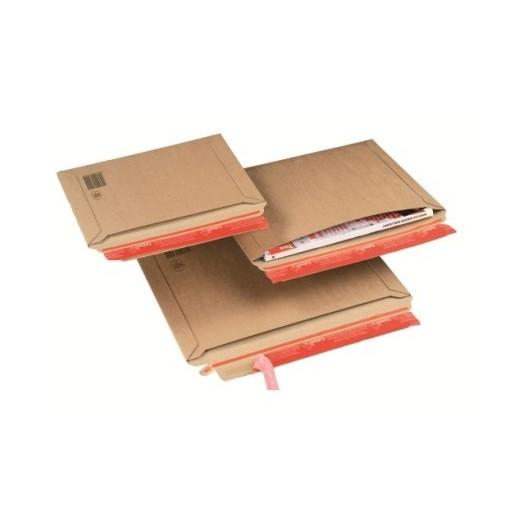 Sobre de cartón con apertura lateral A4+ 36 x 25 cm
