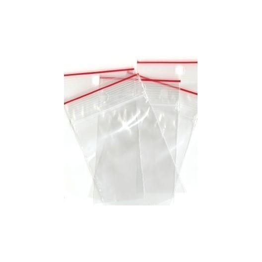 """Bolsa de plástico con cierre Zip 4x6 cm """"Mercería"""""""