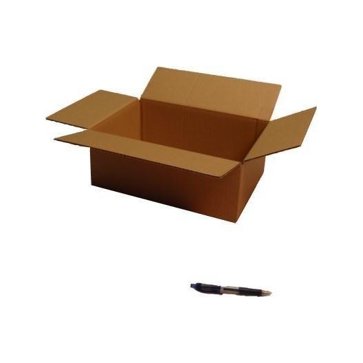 Cartón corrugado simple 35.5x24x13 cm