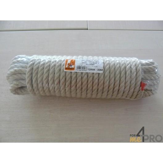 Cuerda multiuso de cáñamo sintético 12mm/20m